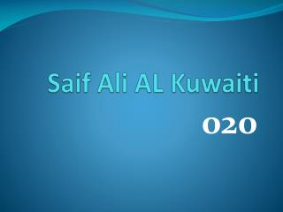 Saif Ali AL Kuwaiti