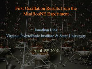 First Oscillation Results from the MiniBooNE Experiment