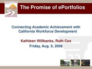 The Promise of ePortfolios