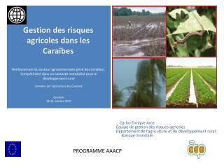 Gestion des risques agricoles dans les Caraïbes