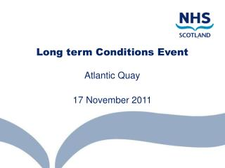 Long term Conditions Event