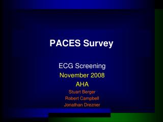 PACES Survey