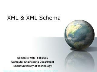 XML & XML Schema