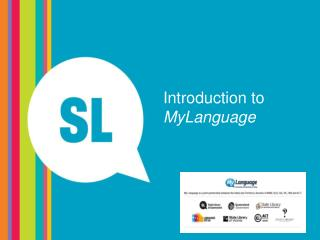 Introduction to  MyLanguage