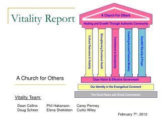 Vitality Report