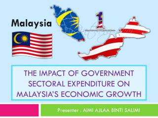 The Impact Of Government Sectoral Expenditure On Malaysia's Economic Growth