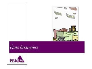 États financiers