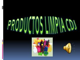PRODUCTOS LIMPIA CDJ