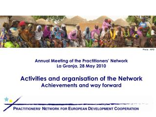 Annual Meeting of the Practitioners' Network La Granja, 28 May 2010