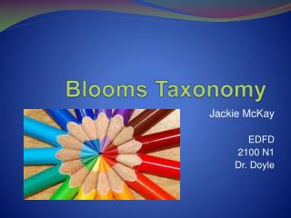Blooms Taxonomy