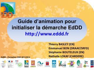 Guide d'animation pour initialiser la démarche EdDD eddd.fr