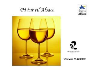 På tur til Alsace
