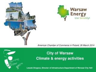 City of  Warsaw Climate  &  energy activities