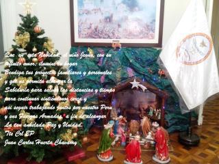 Que  en  esta Navidad, el niño Jesús, con su infinito amor; ilumine tu hogar