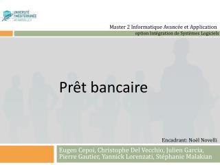Prêt bancaire