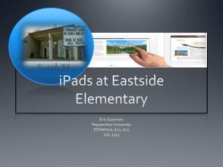 iPads  at Eastside Elementary