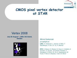CMOS pixel vertex detector  at STAR