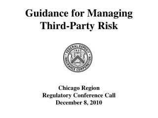 Guidance for Managing  Third-Party Risk