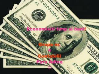 Economisiti timp si bani !
