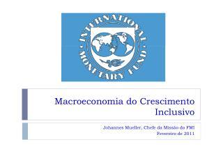 Macroeconomia do Crescimento Inclusivo