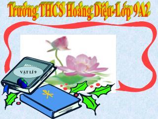Trường THCS Hoàng Diệu-Lớp 9A2