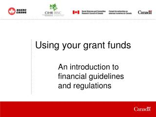Using your grant funds