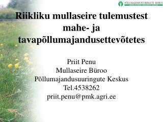 Väetistarbe määramine  Eestis