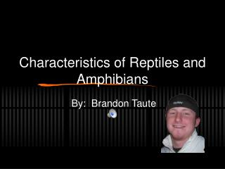Characteristics of Reptiles and Amphibians