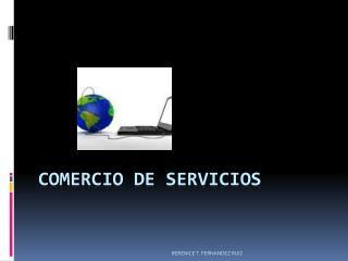 COMERCIO  DE SERVICIOS