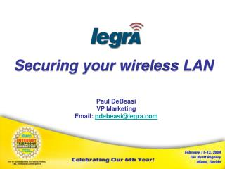 Securing your wireless LAN