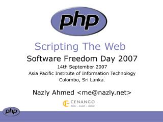 Scripting The Web