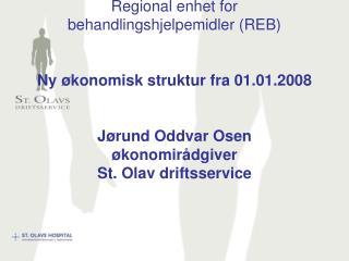 REB – Ny økonomisk struktur fra 01.01.2008