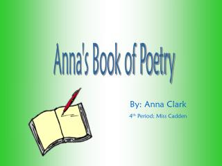 Anna's Book of Poetry