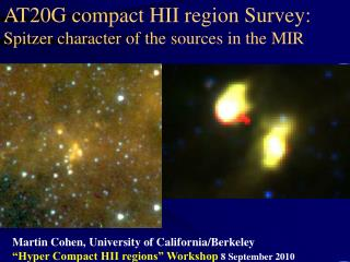 AT20G compact HII region Survey:  Spitzer character of the sources in the MIR