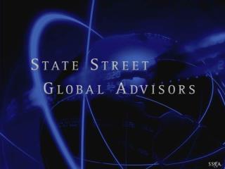 Global Trading at SSgA