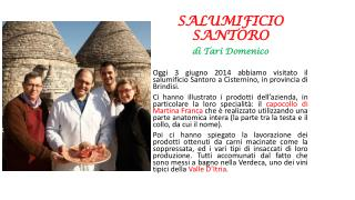 SALUMIFICIO SANTORO