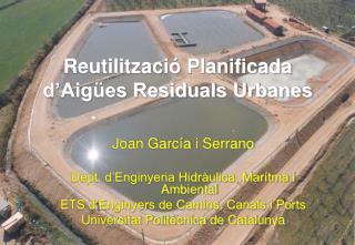 Reutilització Planificada d'Aigües Residuals Urbanes