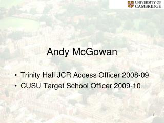 Andy McGowan
