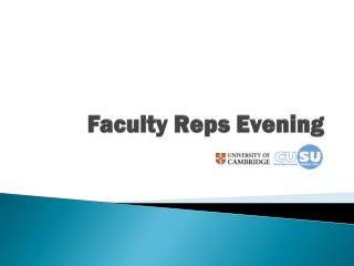 Faculty Reps Evening