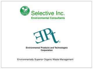 Environmental Products and Technologies Corporation