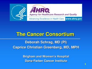 The Cancer Consortium
