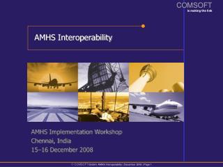AMHS Interoperability