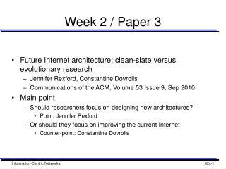Week 2 / Paper 3