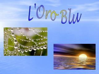 L'Oro Blu