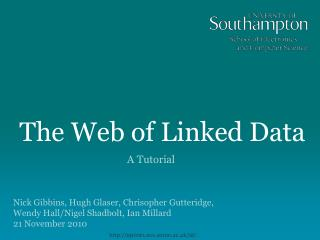 The Web of Linked Data