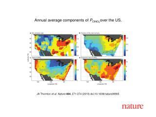 JA Thornton  et al. Nature 464 , 271-274 (2010) doi:10.1038/nature08905