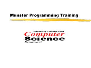 Munster Programming Training