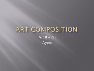 Art composition