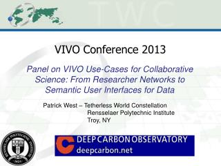 VIVO Conference 2013