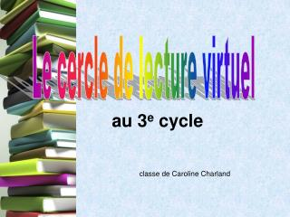 classe de Caroline Charland